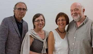 Vier langjährige Lehrer der Eichenschule verabschiedet
