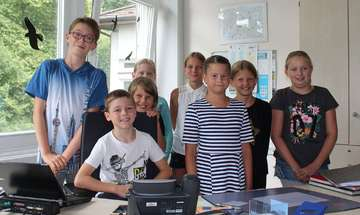 Ferienprogramm Kinderbürgermeisterwahl in Scheeßel