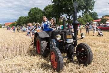 Ein Blick auf die historische Getreideernte  Von KlausDieter Plage