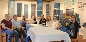 Das blaue Wunder Ausstellung auf dem Meyerhof