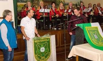 Schützenhalle in Westerholz Feier zum 50jährigen Jubiläum