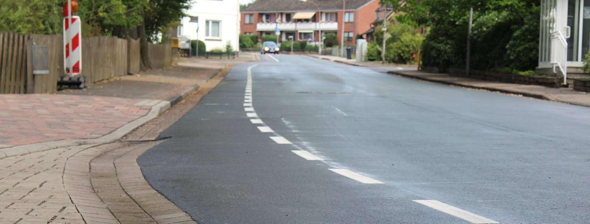 Die Gruppe 57 wünscht sich, dass der Fahrradschutzstreifen in der Schulstraße zur Sicherheit der Kinder verlängert wird. Archivfoto: Ann-Christin Beims