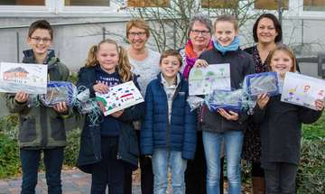 Gemeinde Scheeßel kürt Gewinner des Malwettbewerbs