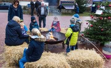 Klein aber fein Erfolgreicher Weihnachtsmarkt in Vahlde