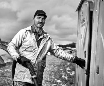 Mike Beims hinter den Kulissen des Hurricanes  Von AnnChristin Beims
