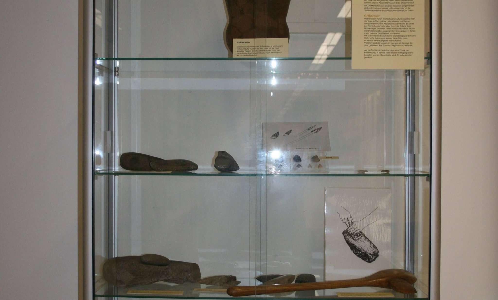 Einen Einblick in das Leben unserer frühen Vorfahren bietet die Ausstellung im Heimathaus Scheeßel.