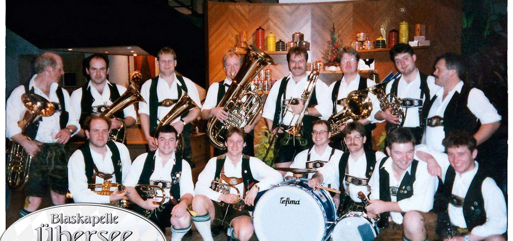 Die Blaskapelle Übersee bereichert das Festival mit bayerischer Musik.