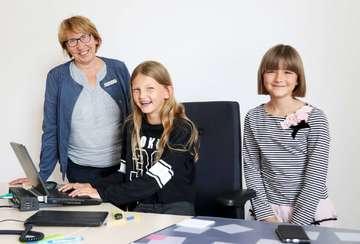 Kinderferienaktion im Scheeßeler Rathaus mit Wahl  Von Nina Baucke