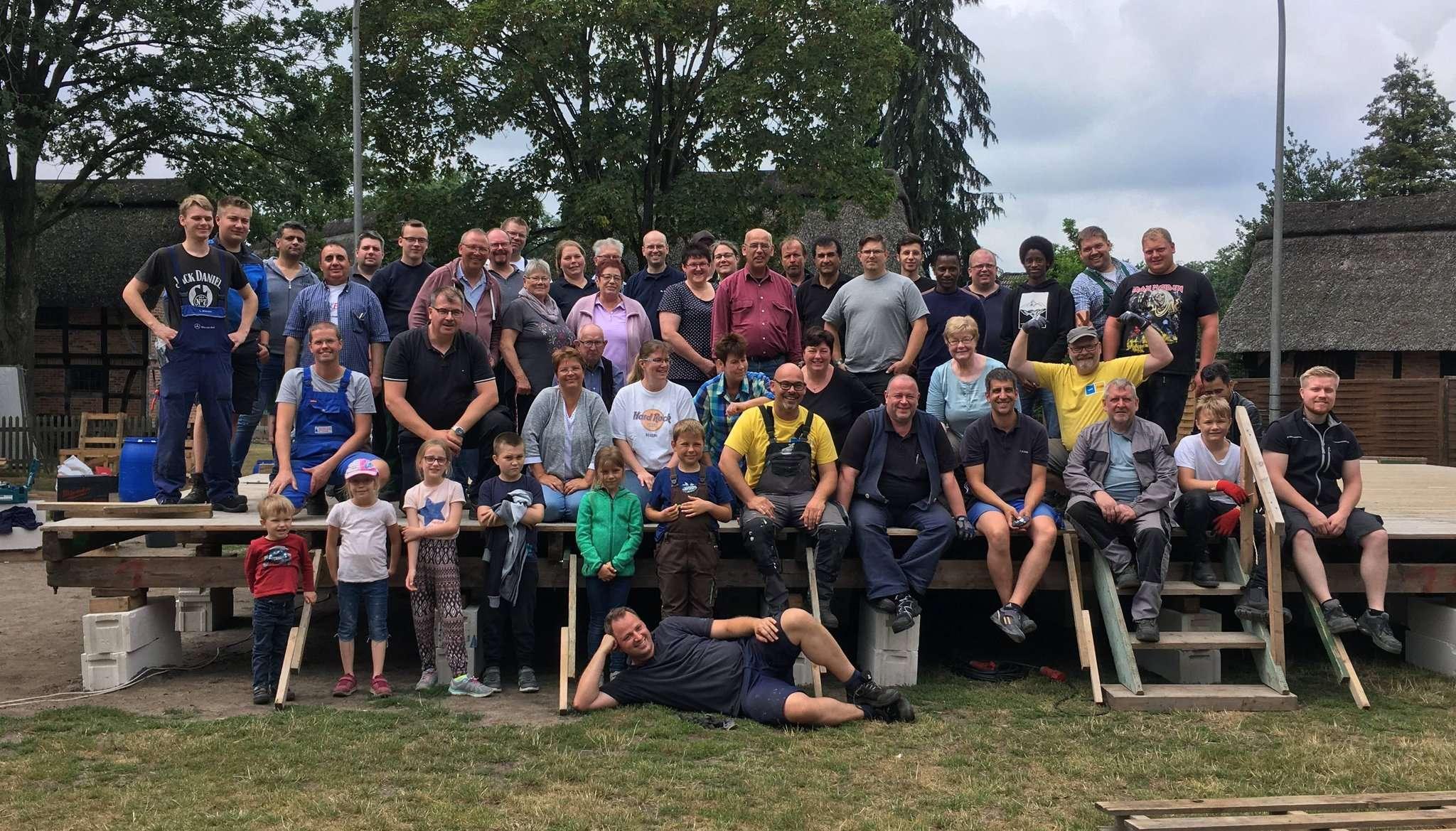 Nicht nur das Konstruktionsteam des Beek-Festivals, auch alle anderen Helfer und Mitwirkenden sind zum Helfernachmittags eingeladen.