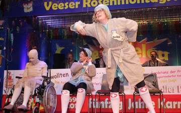 Narrenhochburg Westervesede fiebert Rosenmontag entgegen
