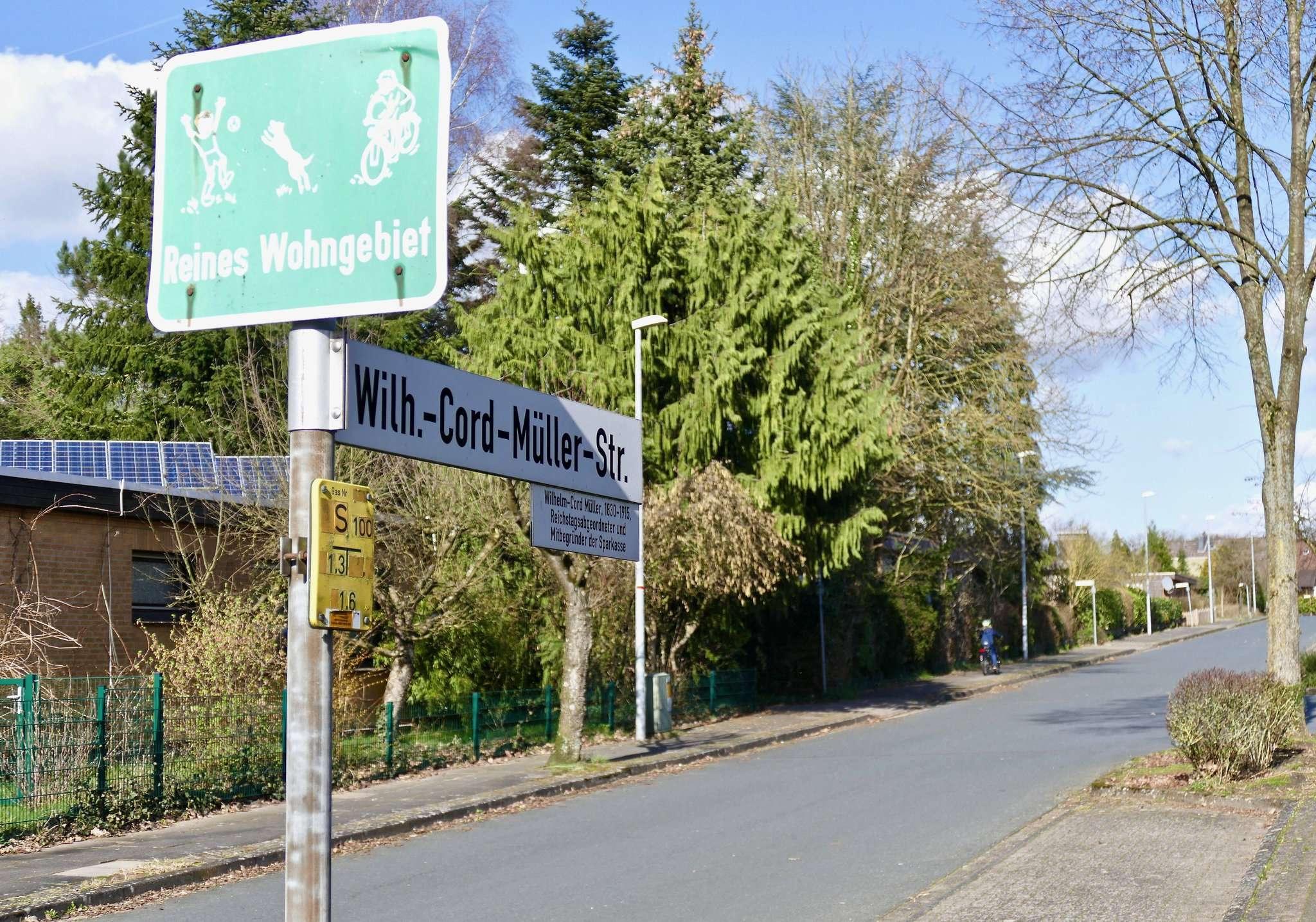 Rund um das Areal Mühlenkamp und der Wilhelm-Cord-Müller-Straße soll eine Tempo-30-Zone entstehen. Fotos: Hans-Jörg Werth