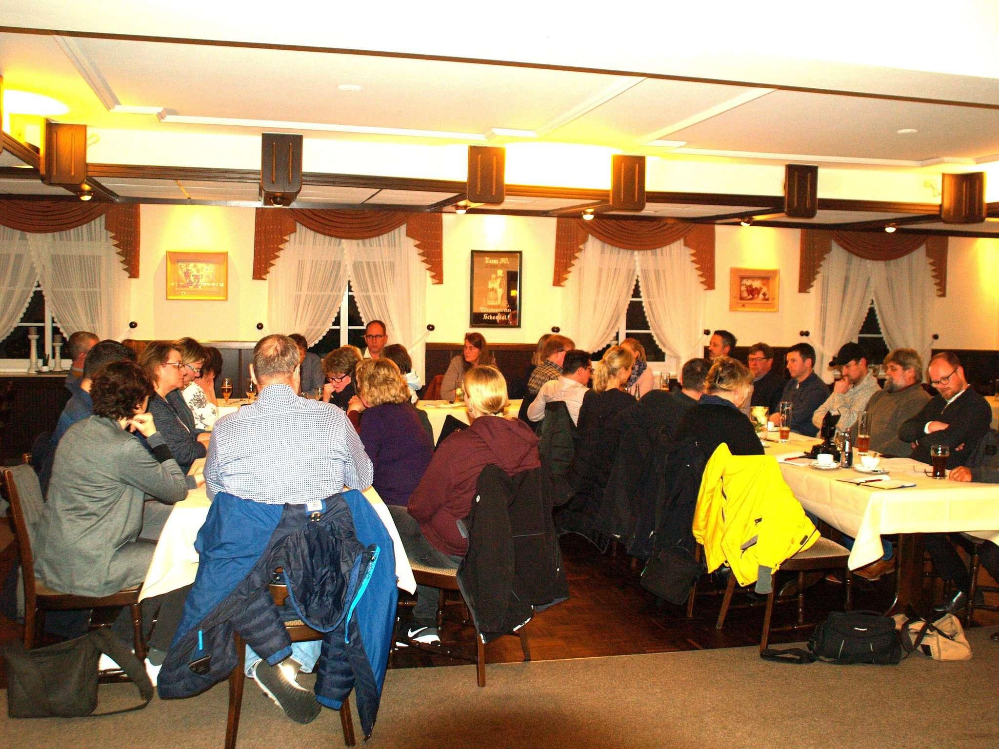 Die Mitglieder des GVS diskutierten die Projekte für das kommende Jahr Foto: Sünje Lou00ebs