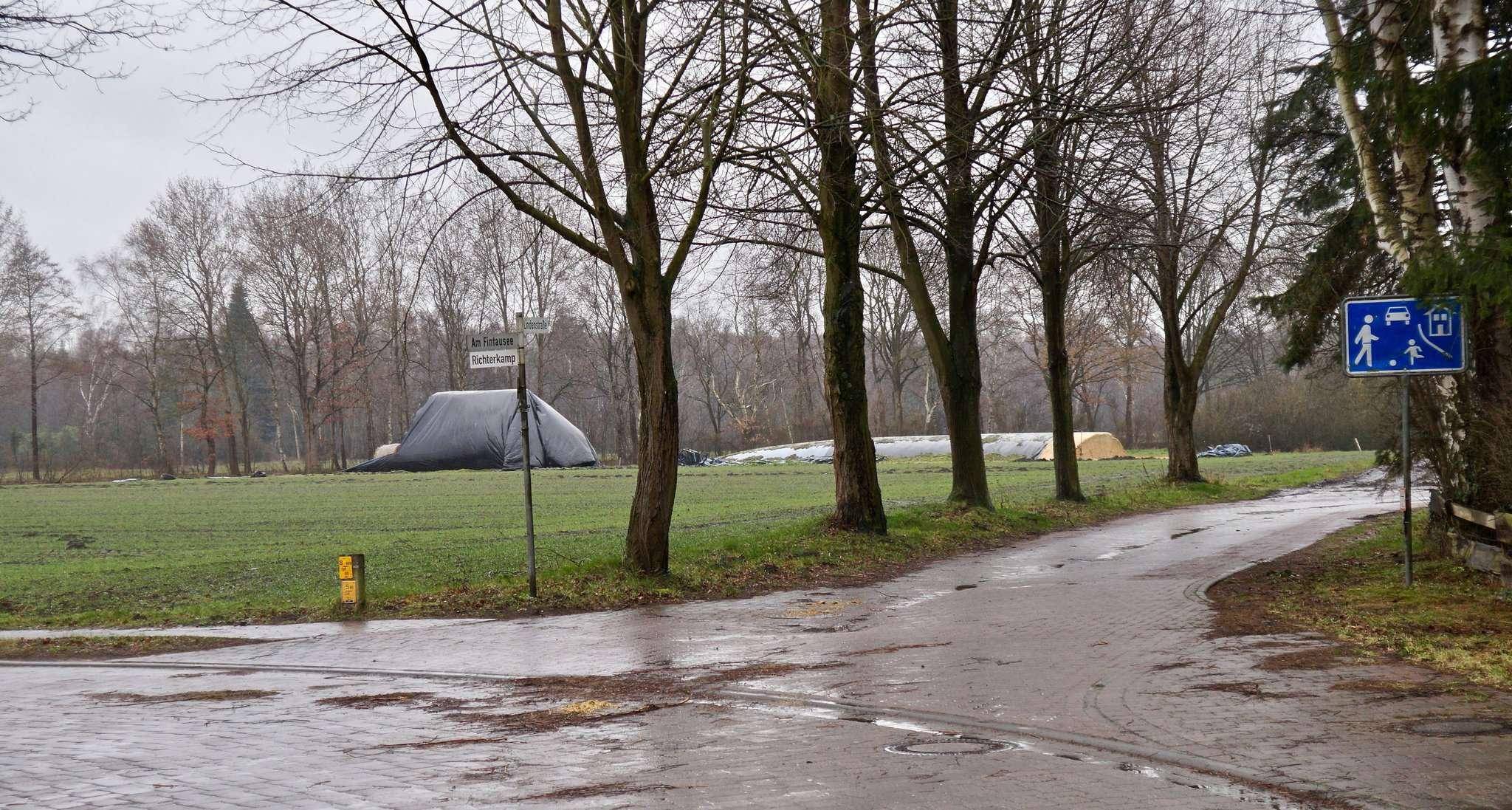 Das in der Bevölkerung kontrovers und mit viel Zuspruch diskutierte Neubaugebiet Treiderkamp in Fintel wird auf 2021 geschoben, somit die aktuellen Haushaltskosten entlasten. Foto: Hans-Jörg Werth