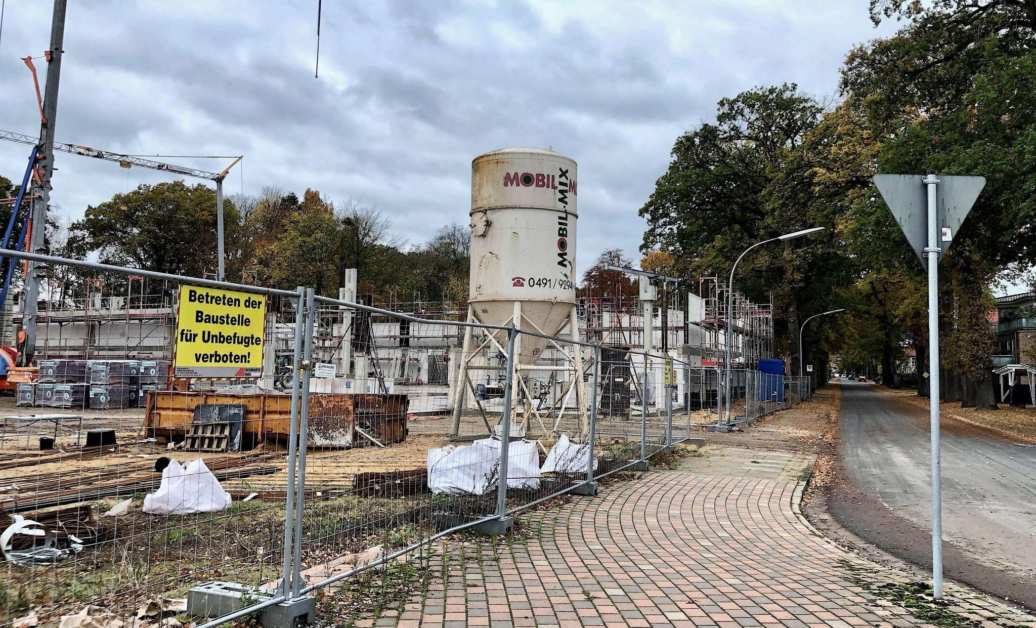 In Scheeßel wird viel gebaut, in absehbarer Zeit ist eine Aufstockung im Bereich der Bauleitplanung notwendig. Foto: Judith Tausenfreund