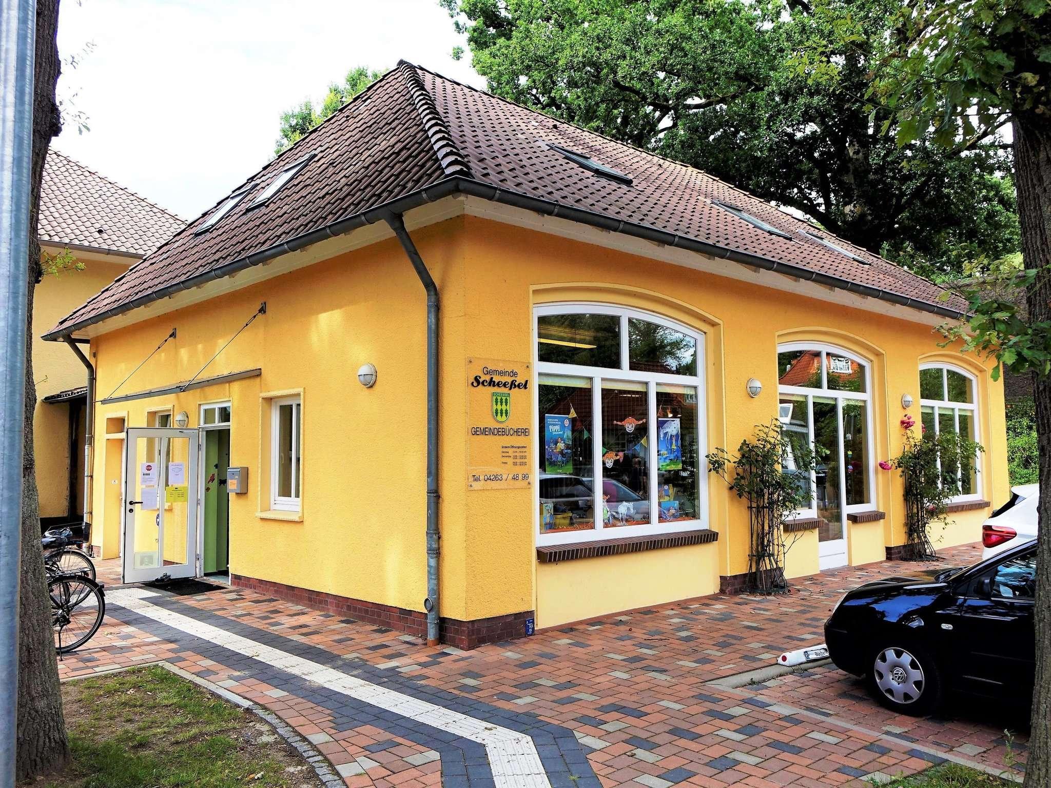 Die Gemeindebücherei Scheeßel Foto: Ujen