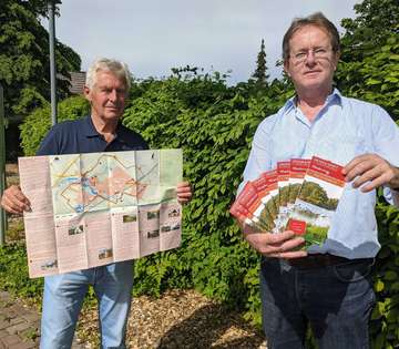 Faltplan Rund um Lauenbrück in zweiter Auflage