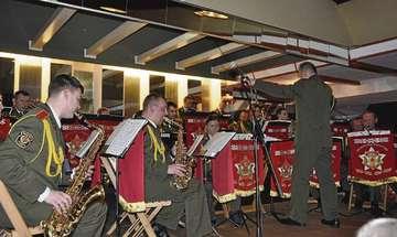 Militärorchester aus Weißrussland begeistert Publikum