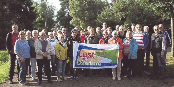 36 Teilnehmer bewältigten bei der Osteland-Radtour eine Strecke von 40 Kilometern bei bestem Wetter.