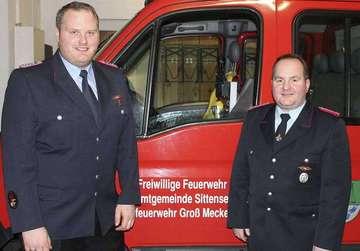 Wahlen und Ehrungen bei Feuerwehr