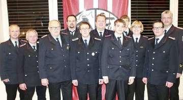 FeuerwehrVersammlung mit Wahlen und Ehrungen
