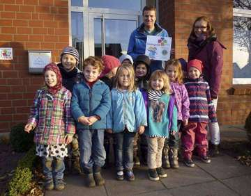 Kindertagesstätte Himmelszelt als Kindergarten plus ausgezeichnet