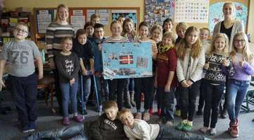 Dänische Studentinnen zu Gast an Sittenser Grundschule