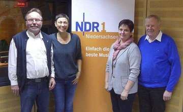Moorbahnverein zu Gast in der NDRPlattenkiste