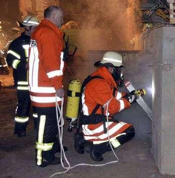 Feuerwehren führen erste Quartalsübung durch