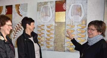 FeG Ausstellung von Gisela Wichern offiziell eröffnet