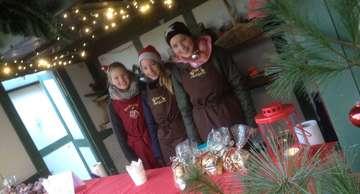 Moorbahn in Burgsittensen weihnachtliches Treiben