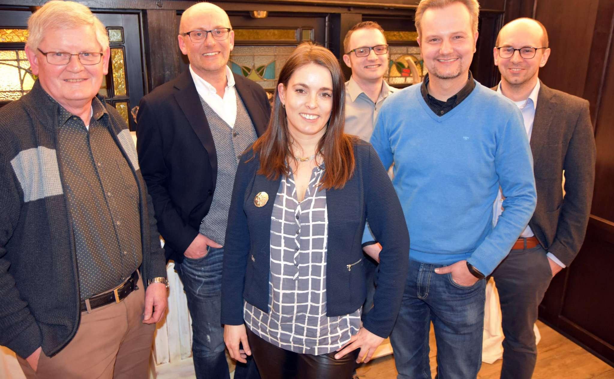 Der Vorstand des WIR: Gerhard Inzelmann (von links), Torsten Wichern, Sarah Mußlick, Mathes Stabbert, Bernd Dohrmann und Sebastian Albers Foto: Heidrun Meyer