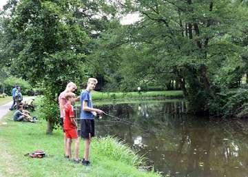 Jugendangeln des Sportfischervereins
