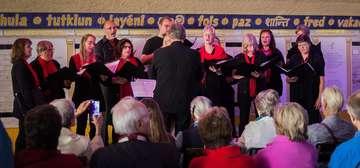 Chor Via Nova gibt Konzert im Bremer Friedenstunnel