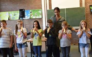Schüler der Kooperativen Gesamtschule lernen Orgel kennen