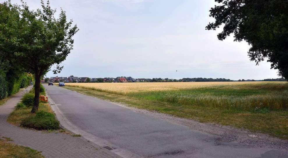 Im Bereich der Stuhmer Straße soll ein Wohngebiet entstehen, das in drei Abschnitten erschlossen wird.