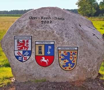 Drei Landkreise feiern 250 Jahre DreeKrützSteen  Von Heidrun Meyer