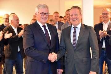 Samtgemeindebürgermeister Jörn Keller offiziell vereidigt