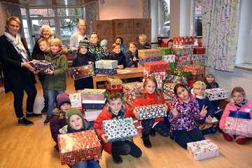 Kirchengemeinde SIttensen beteiligt sich an Weihnachtsaktion