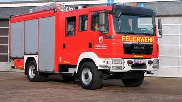 Neues Hilfeleistungslöschgruppenfahrzeug übergeben