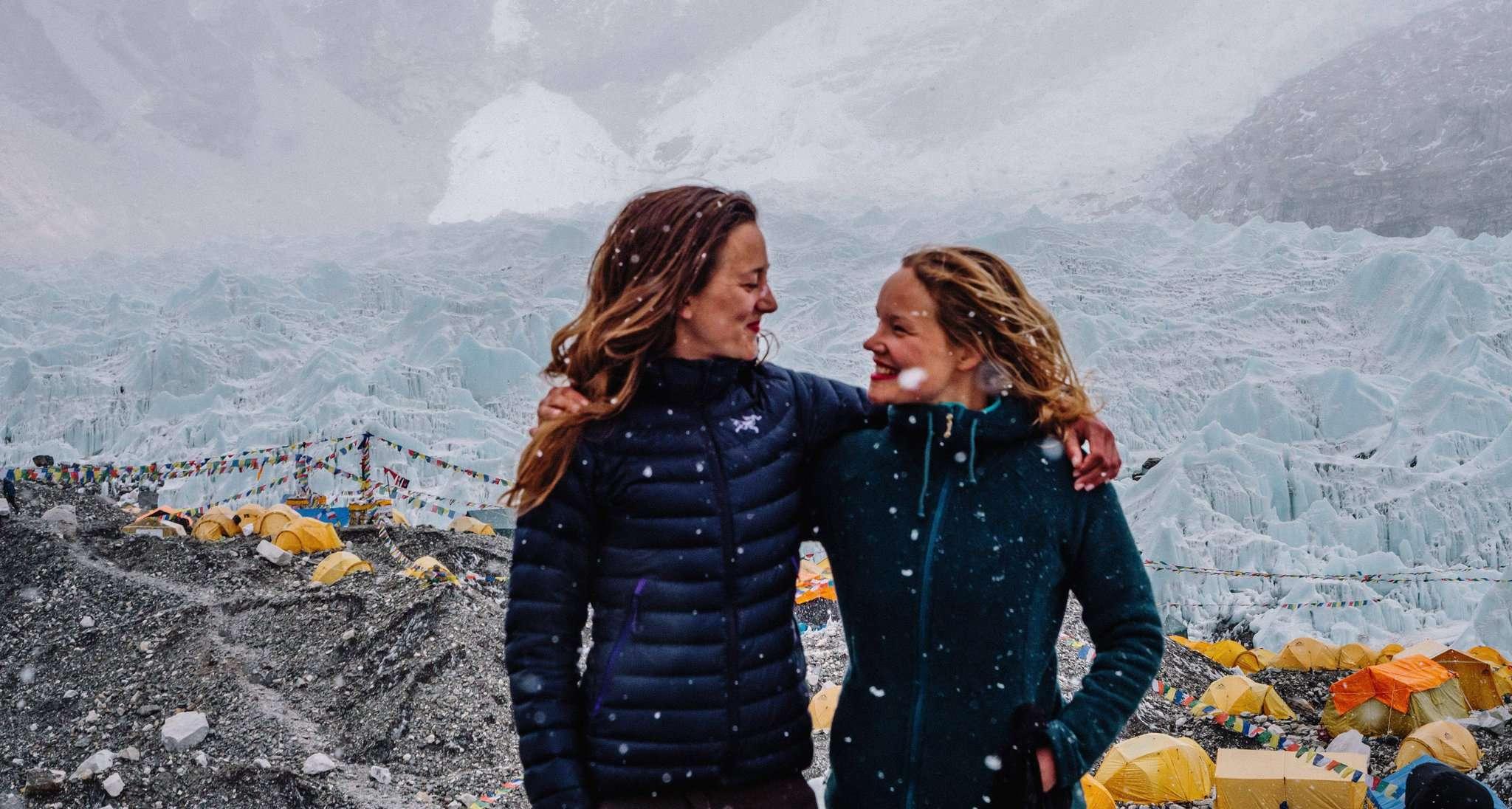 Kristin Hollmann und Valerie Menke haben sich auf ihrer abenteuerlichen Wanderung viele Gedanken zum Thema Freundschaft gemacht.