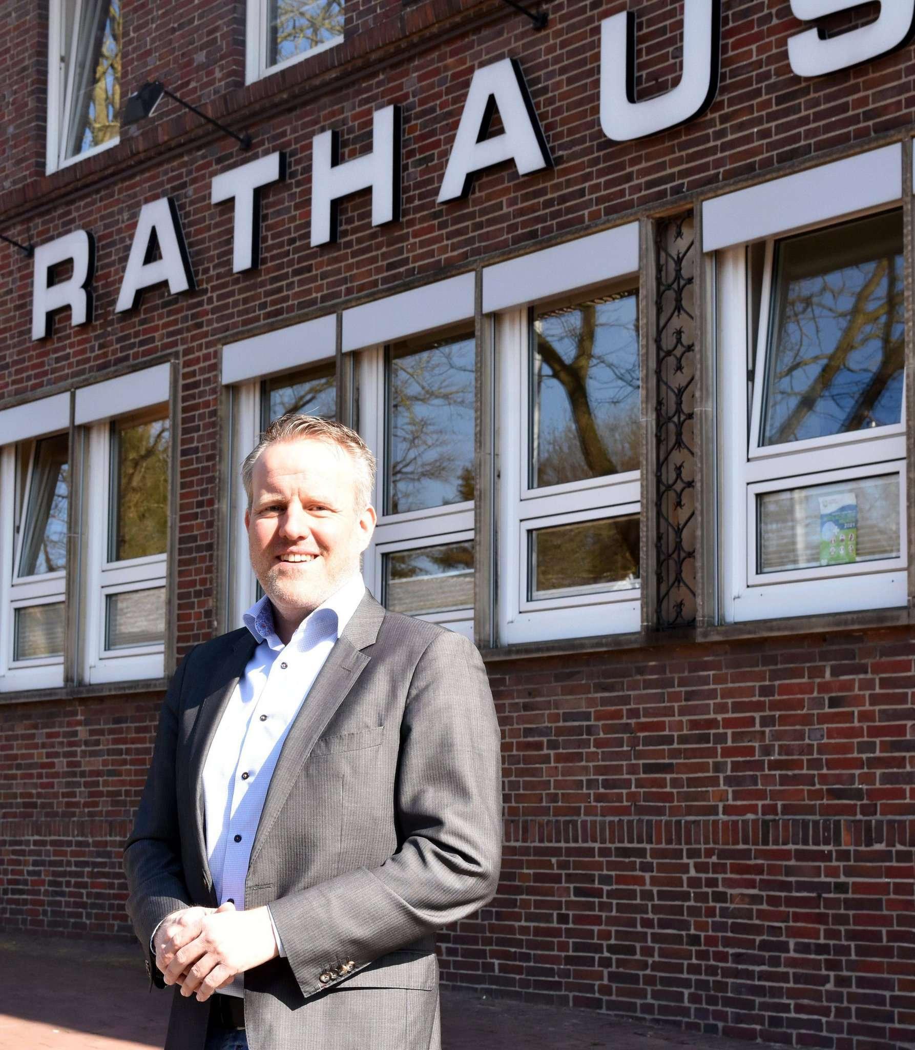 Samtgemeindebürgermeister Jörn Keller ist Anhänger der No-Covid-Strategie und kritisiert Lockerungsmodelle in der Phase der hohen Infektionszahlen.