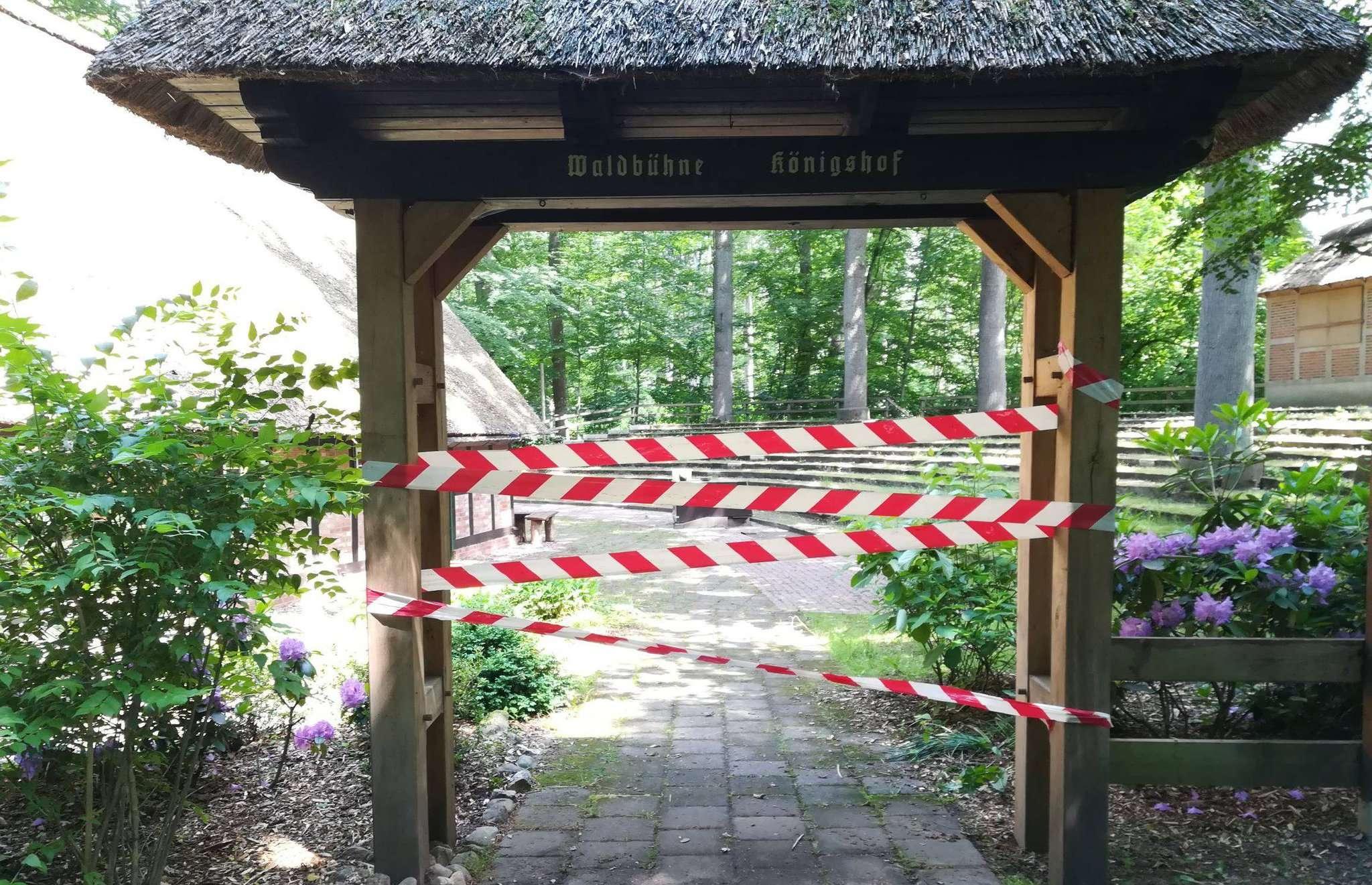 Ob in diesem Jahr auf der Waldbühne Königshof die beleibten Freilichttheatervorstellungen stattfinden können, steht noch nicht fest.