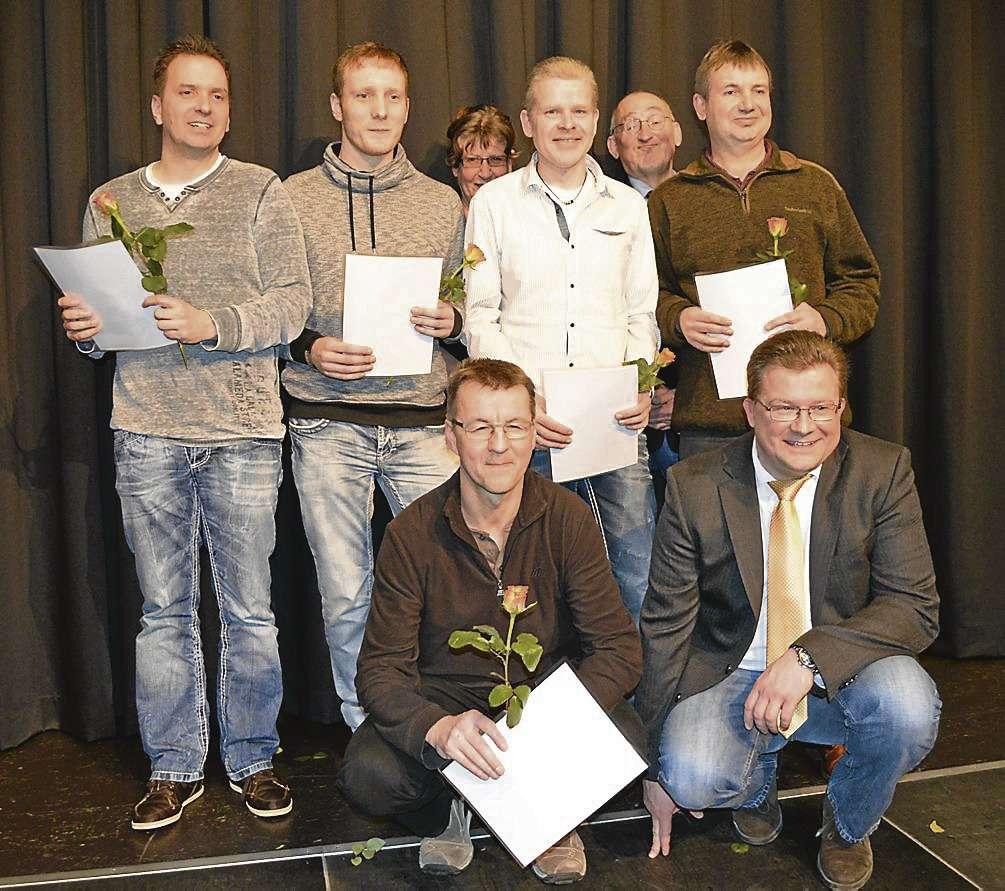 Stolz ist der TSV Stuckenborstel auf seine Tischtennismannschaft, die für ihre Leistung auch während der Sportlerehrung der Samtgemeinde ausgezeichnet worden ist.