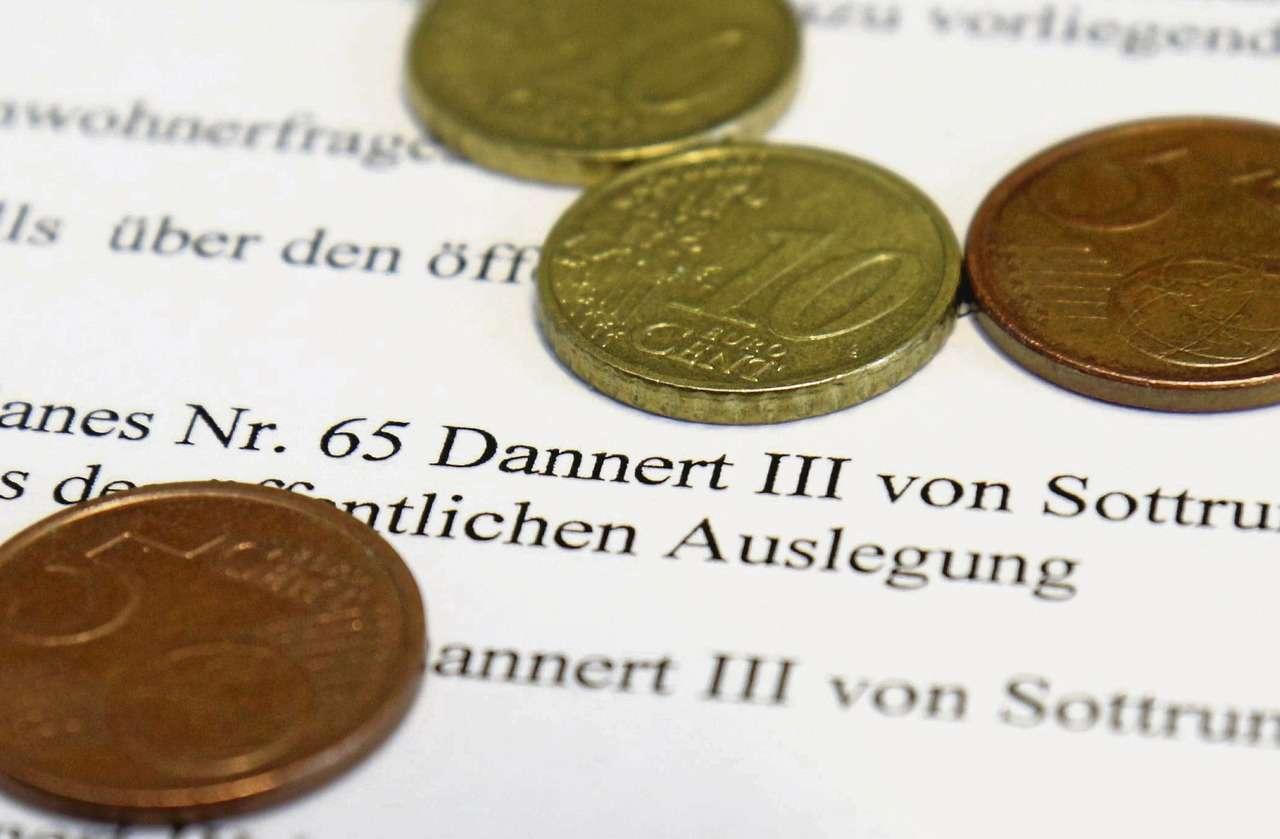 Um Geld gehtu2018s den Kaufinteressenten beim Baugebiet Dannert III u2013 aber freilich nicht um Cent-Beträge. Um rund 30 Prozent sind die Quadratmeterpreise seit der ersten Anfrage gestiegen.