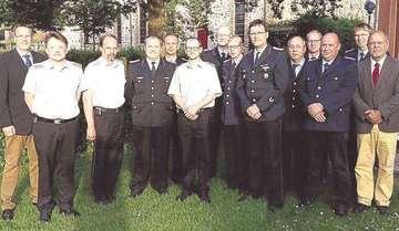 Verabschiedung und Verpflichtung von Ortsbrandmeistern