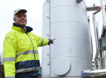 Zu viel Windkraft: Bei Netzüberlast schalten Biogasanlagen ab - Von Andreas Schultz