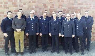 Ortsbrandmeister der Samtgemeindewehren bilden sich fort