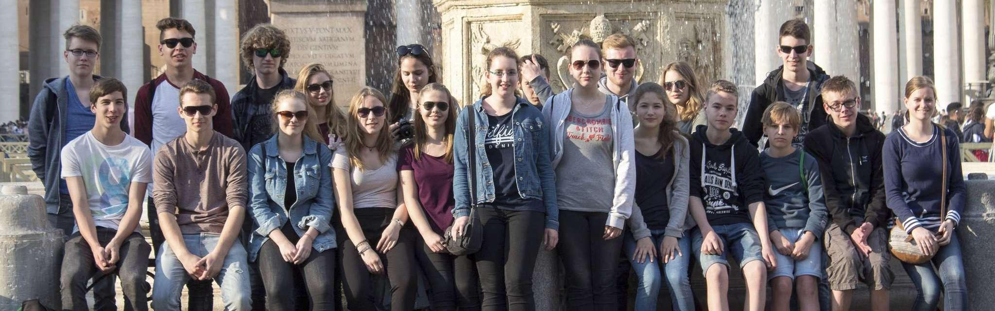 Lateinschüler aus Sottrum und Ottersberg wissen nun, wie sich die alte Sprache und Reisen vereinbaren lassen: mit einer Woche Rom.