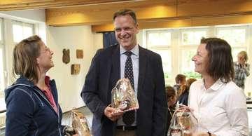 Samtgemeinde empfängt Austauschgruppe aus Qu�bec