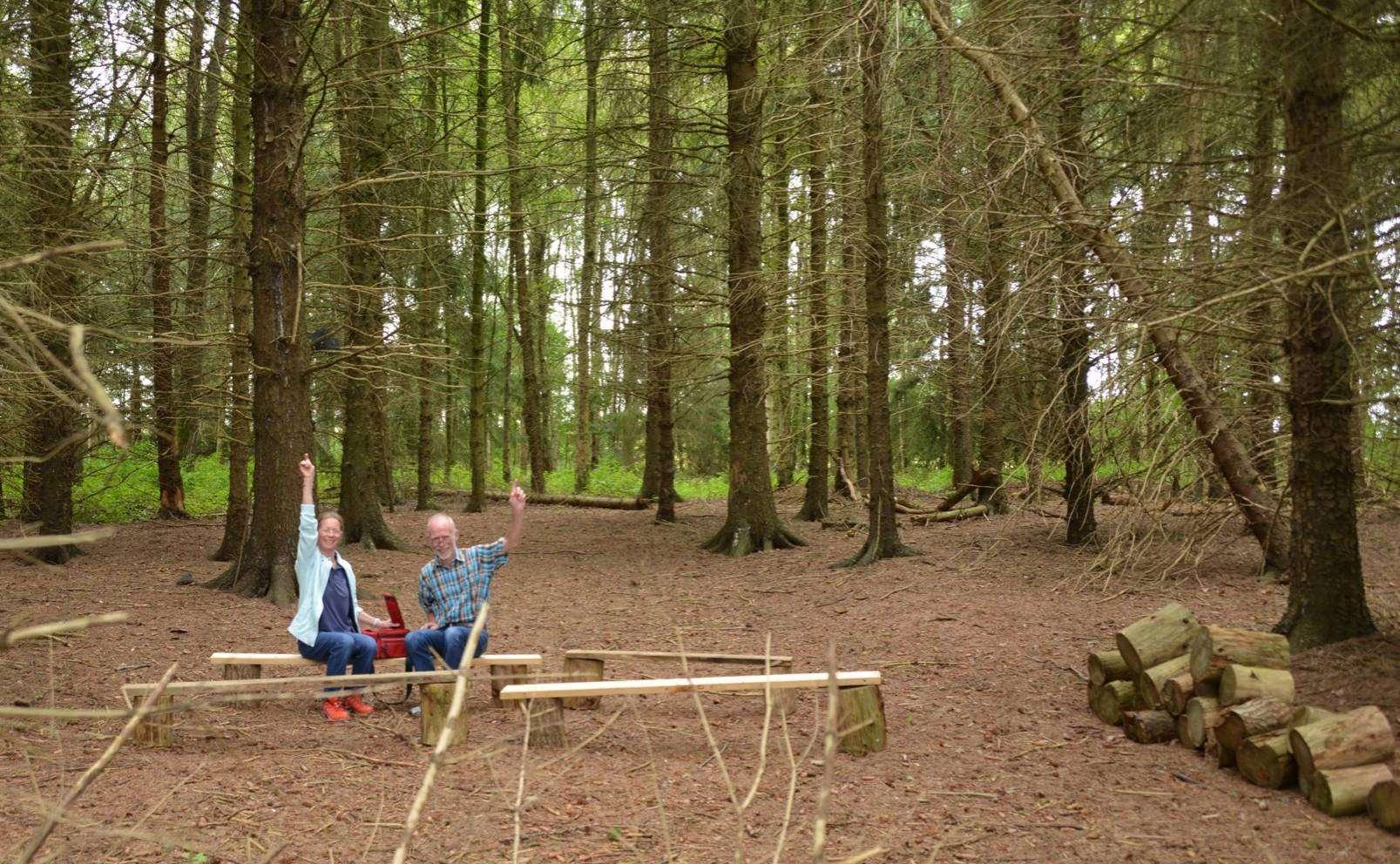 Ein Klassenzimmer im Grünen u2013 den Natur-Looks-Machern Christiane und Joachim Looks gefälltu2019s.